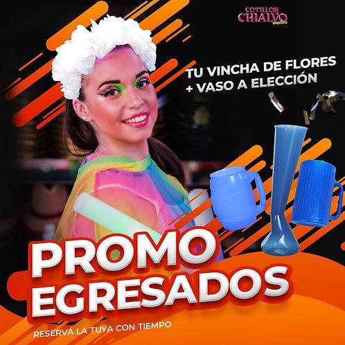 Pack Egresado Vincha + Vaso
