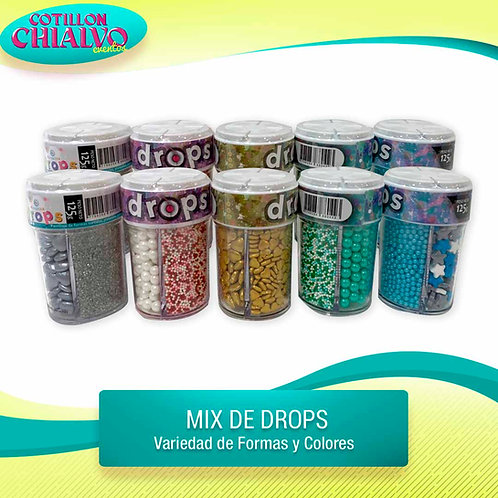 Drops Mix para decorar