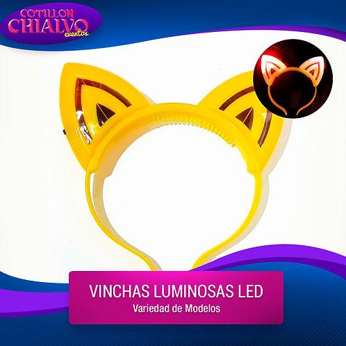 Vincha Led Gato