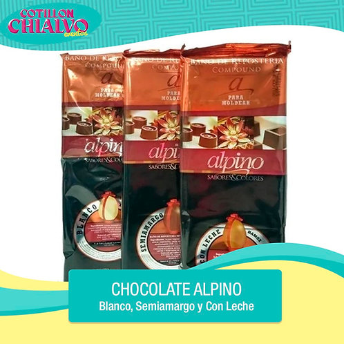 Chocolate Alpino 500grs
