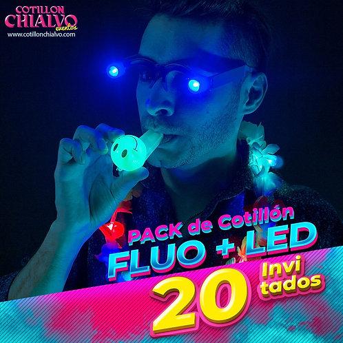 Pack Fluo y Luminoso 20 Inv