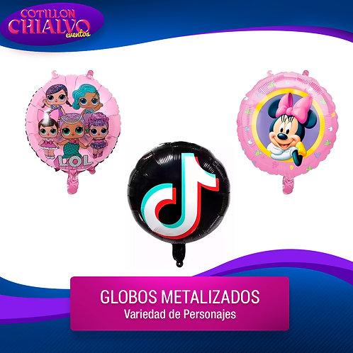 Globo Mylar personaje