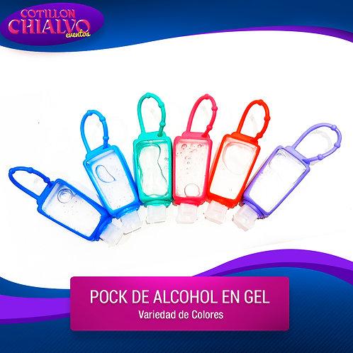 Pock de alcohol en gel