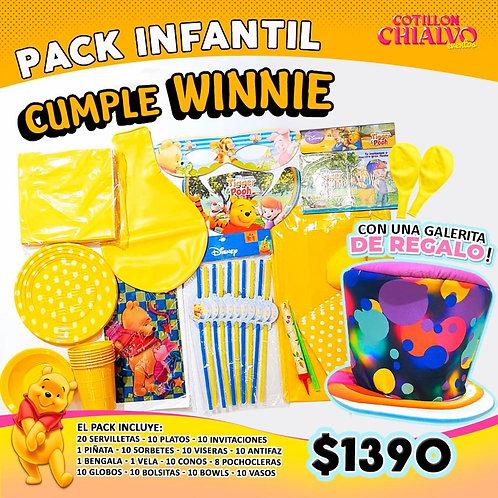 Pack Winnie + galera de regalo