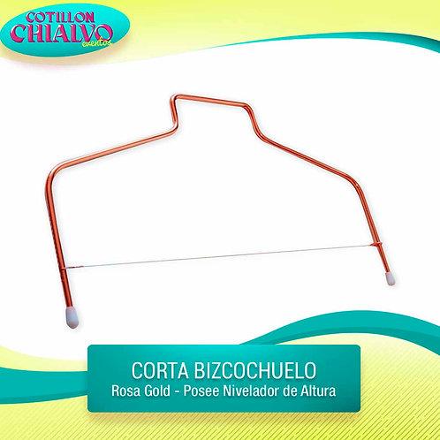 Corta Bizcochuelo Rosa gold