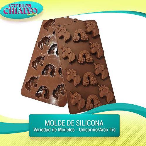 Moldes de silicona varios modelos
