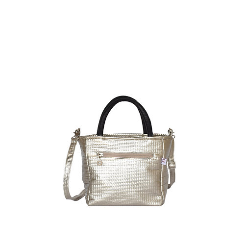 Silver Mini Crossbody
