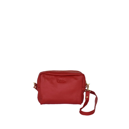 Prima Red Leather