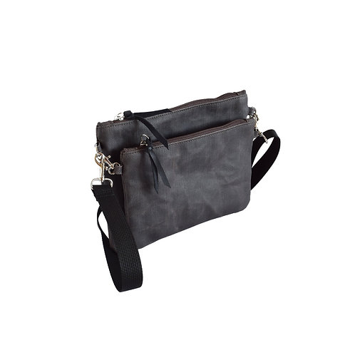 Duet Brown crossbody small bag