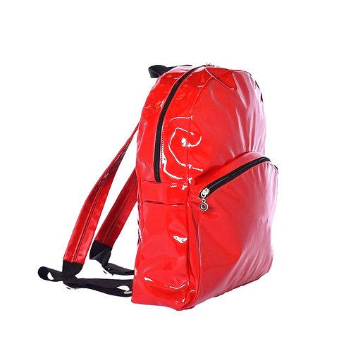 Red Prima Medium Backpack