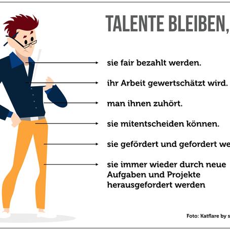 Talente binden – Wie du deine Mitarbeiter langfristig halten kannst