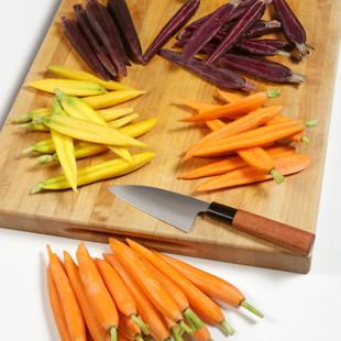 Hand-Peeled Carrots