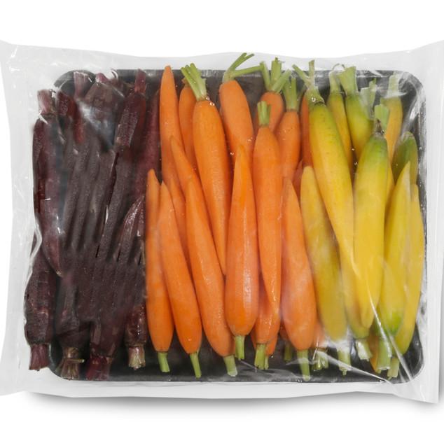 Mixed Hand Peeled Carrots
