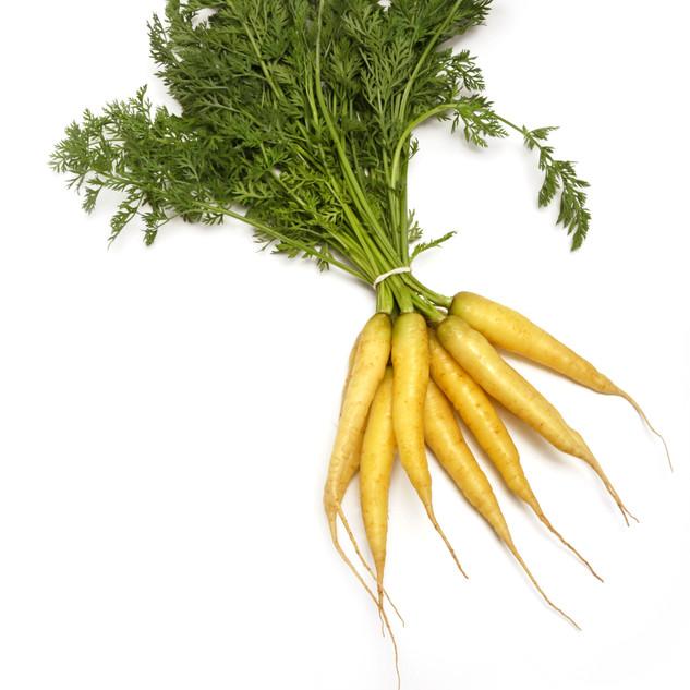 Baby White Carrots