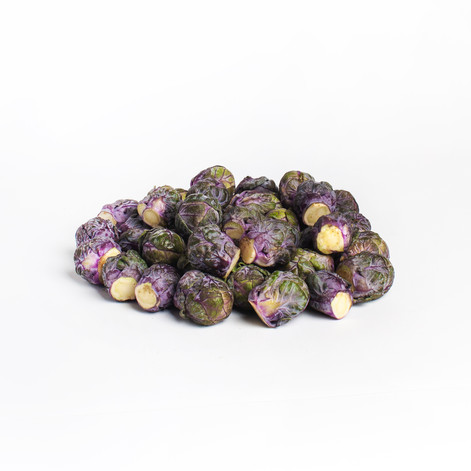 Baby Purple Brussels Sprouts