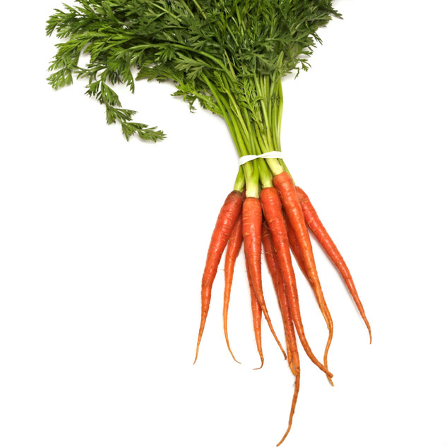 Baby Pink Carrots