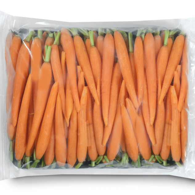 French Hand Peeled Carrots