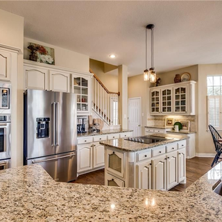Kitchen with Soft Staging