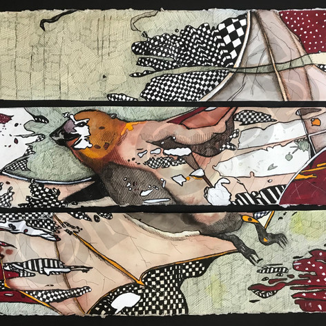 Bat Triptych
