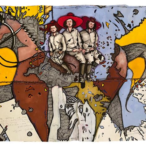 Carousel 3 Cowgirls