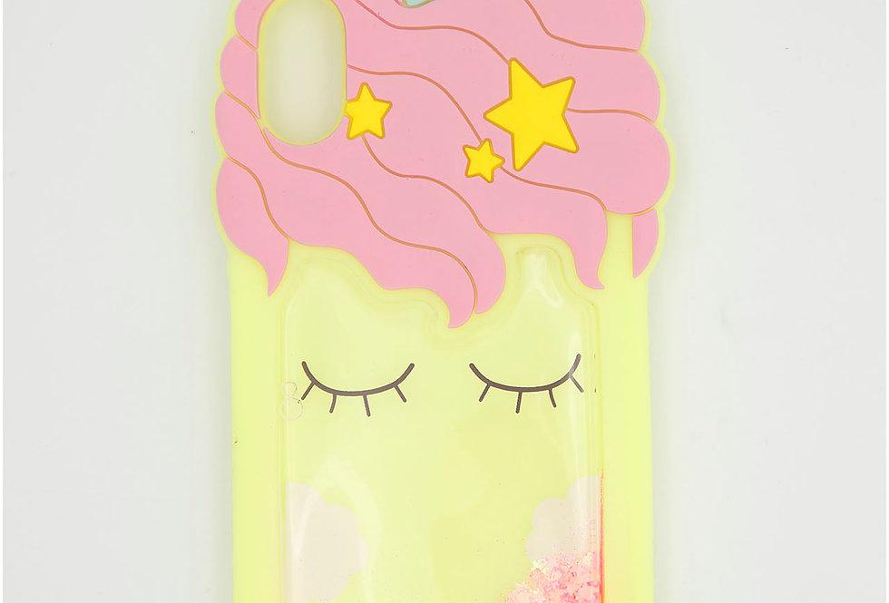 Чехол игрушка Единорог на iPhone Xs