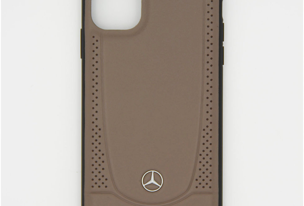 Кожаный чехол на iPhone 11 Mercedes