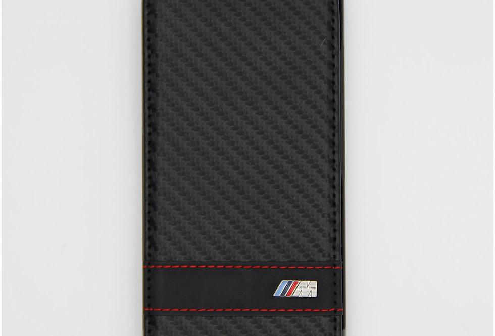 Кожаный чехол книжка на iPhone 6 BMW