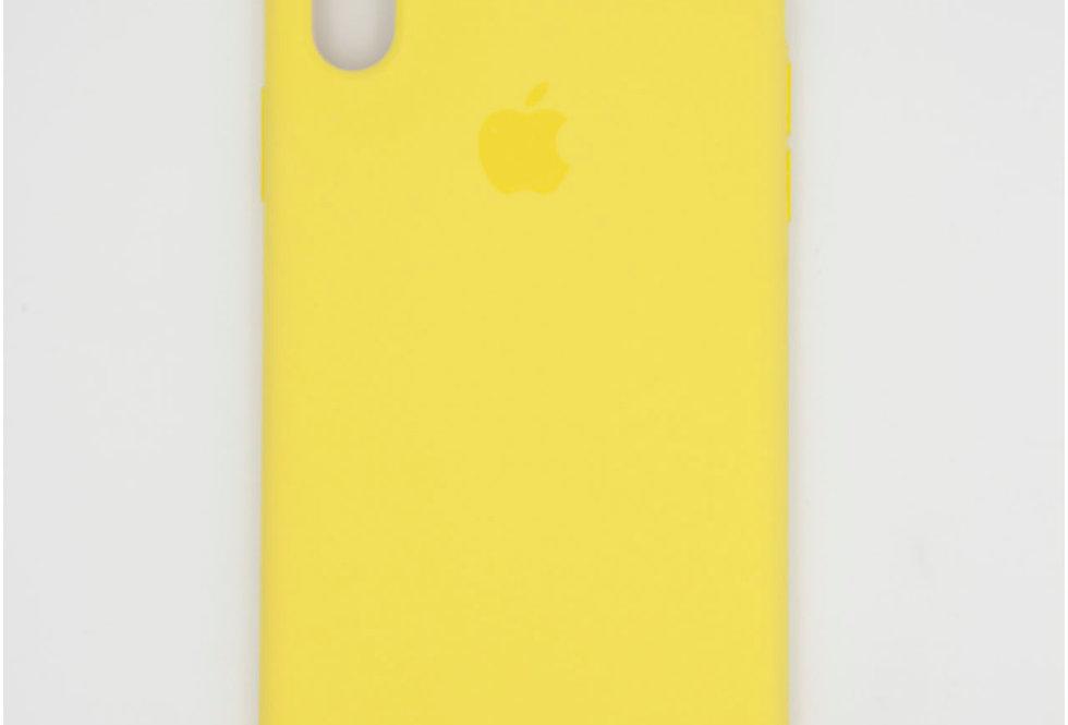 Силиконовый чехол на iPhone Xr (Silicone case)
