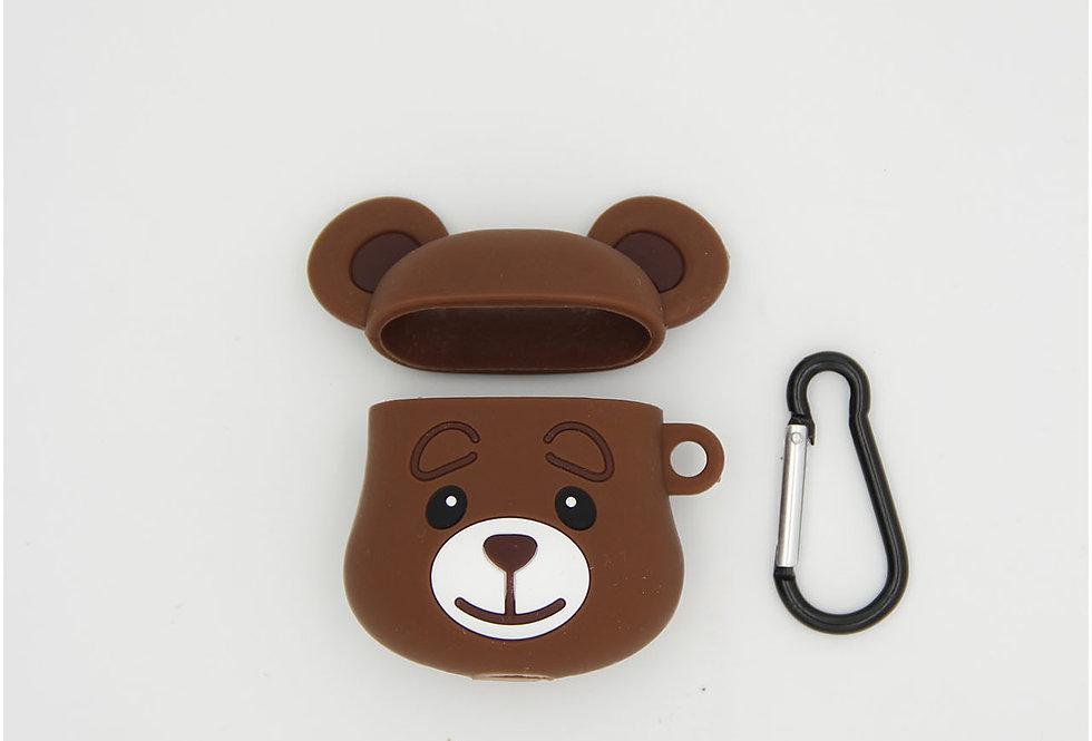 Чехол игрушка на AirPods Bear
