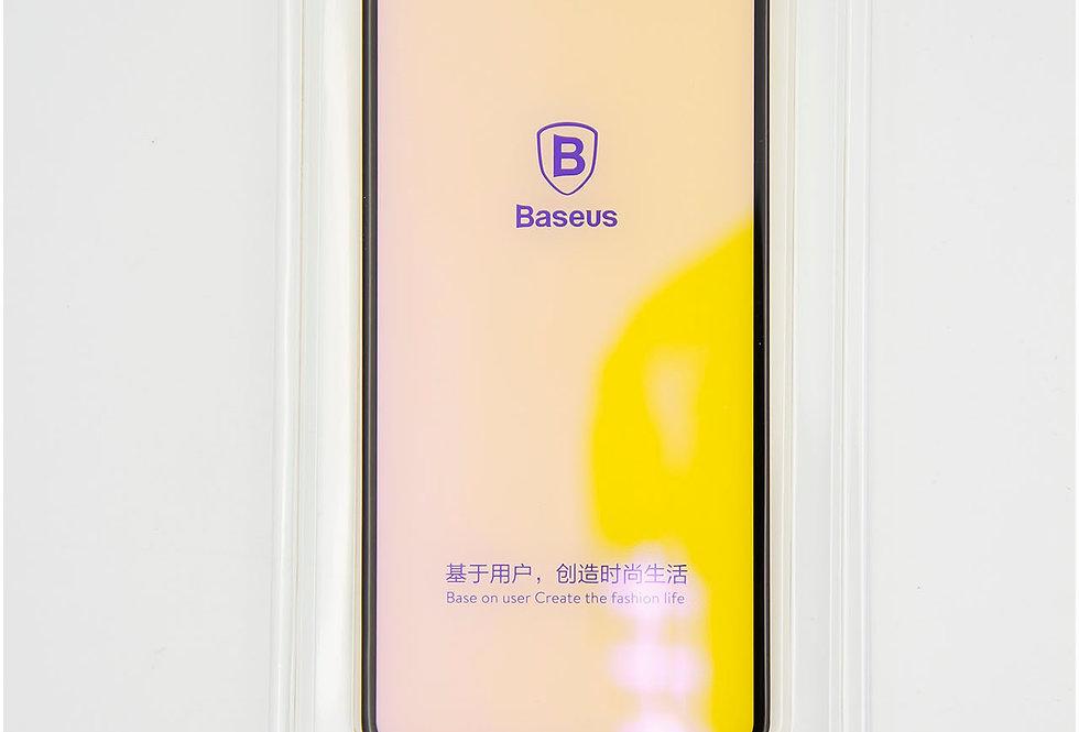 Защитное антибликовое стекло 3D Baseus на iPhone Xs