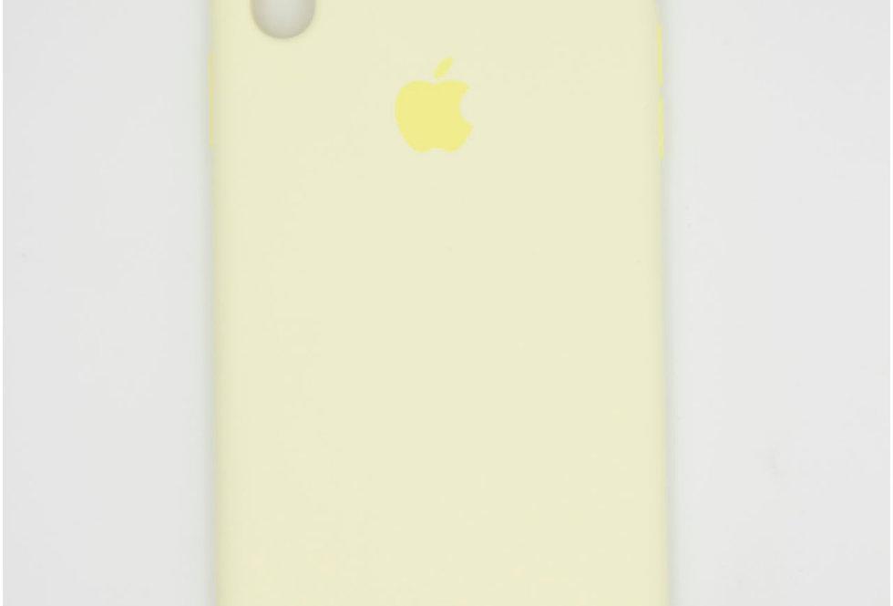 Силиконовый чехол на iPhone X Max (Silicone case)