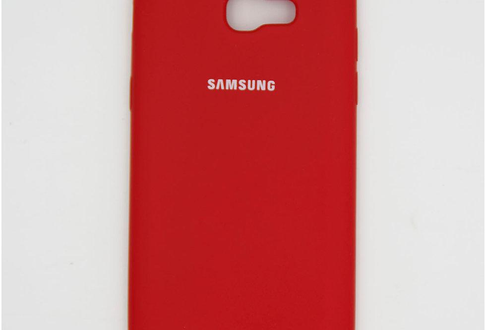 Силиконовый чехол на Samsung A5 2017 Silicone Cover