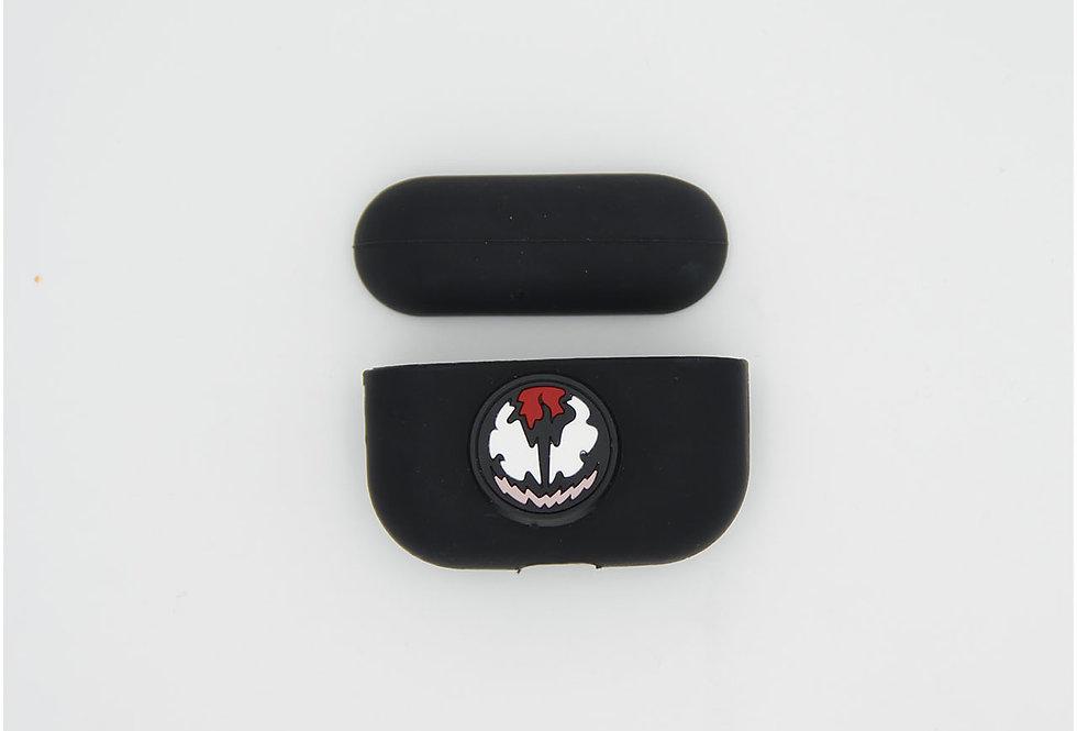 Чехол на AirPods логотип Venom