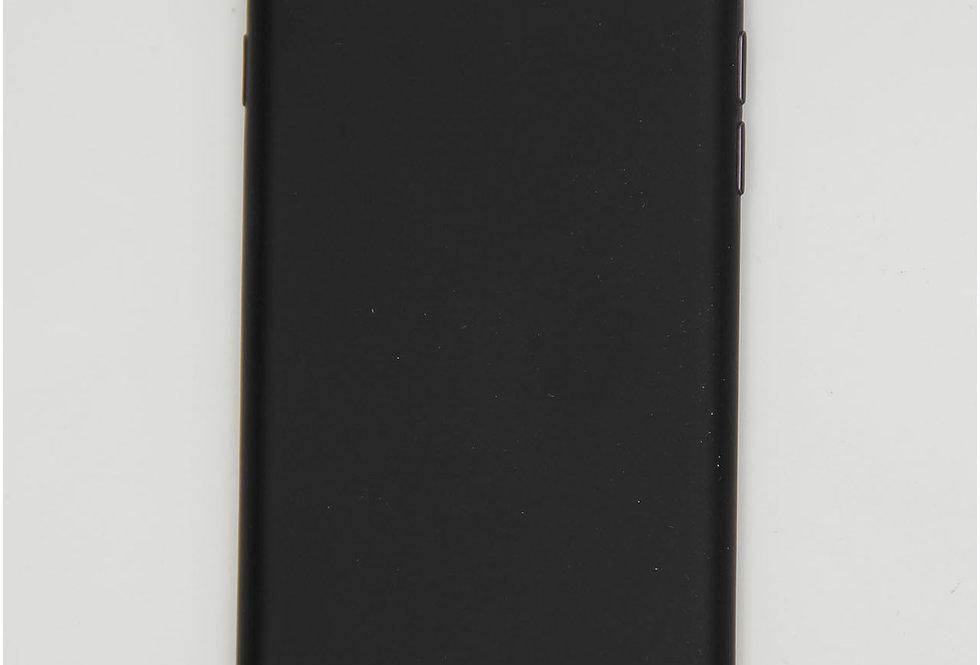 Чехол для iPhone 7/8 черный матовый силикон