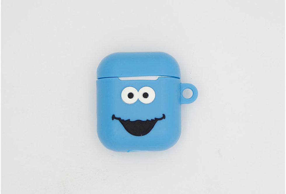Чехол игрушка на AirPods Коржик (Sesame Street)