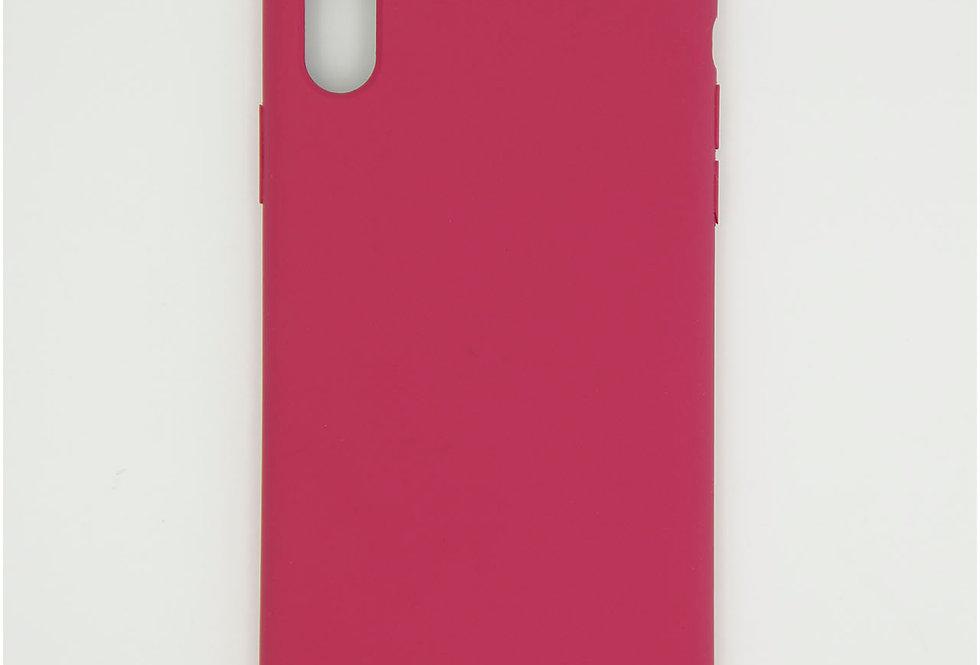 Силиконовый чехол на iPhone Xr Guess