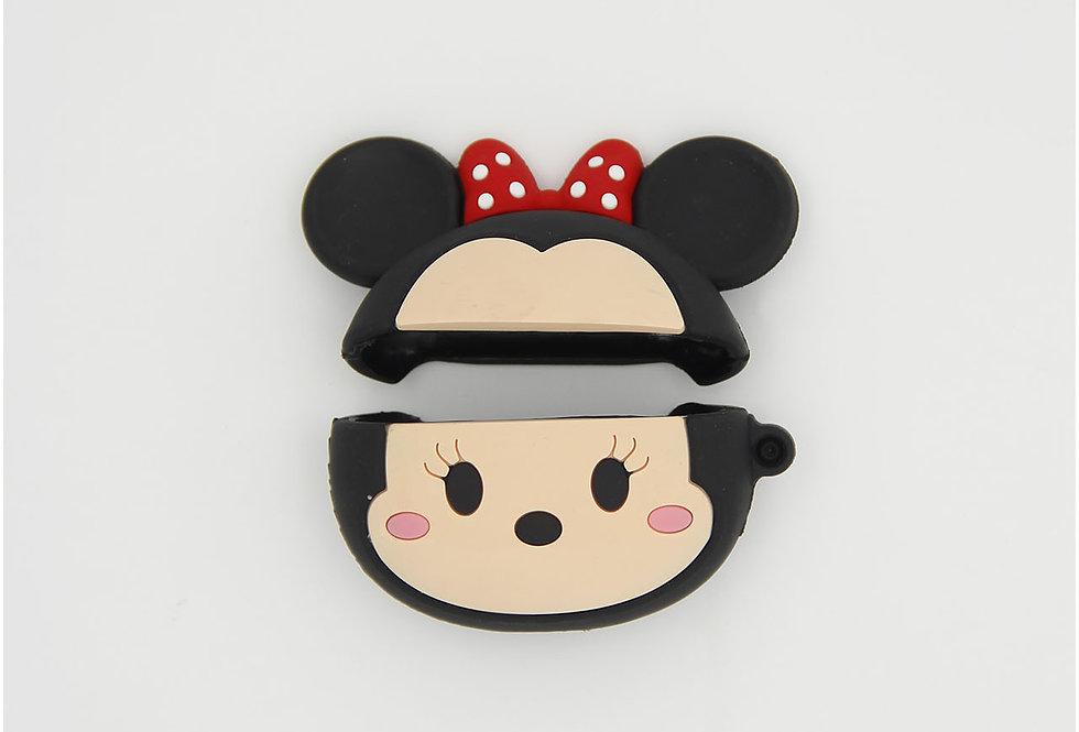 Чехол игрушка на AirPods Pro Minnie Mouse