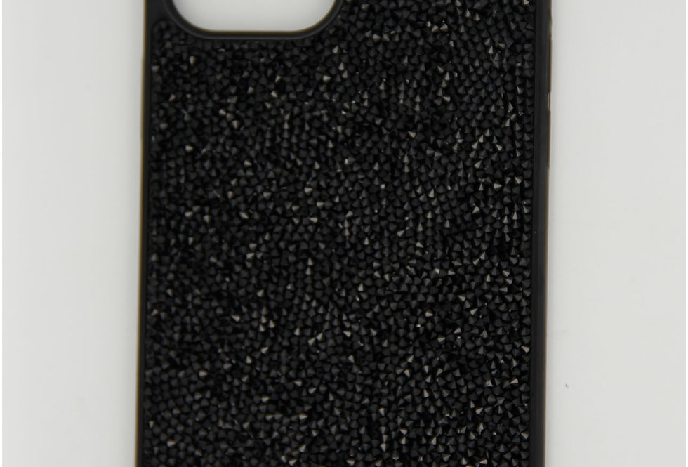 Чехол для iPhone 12 (6.7) Swarovski пластик