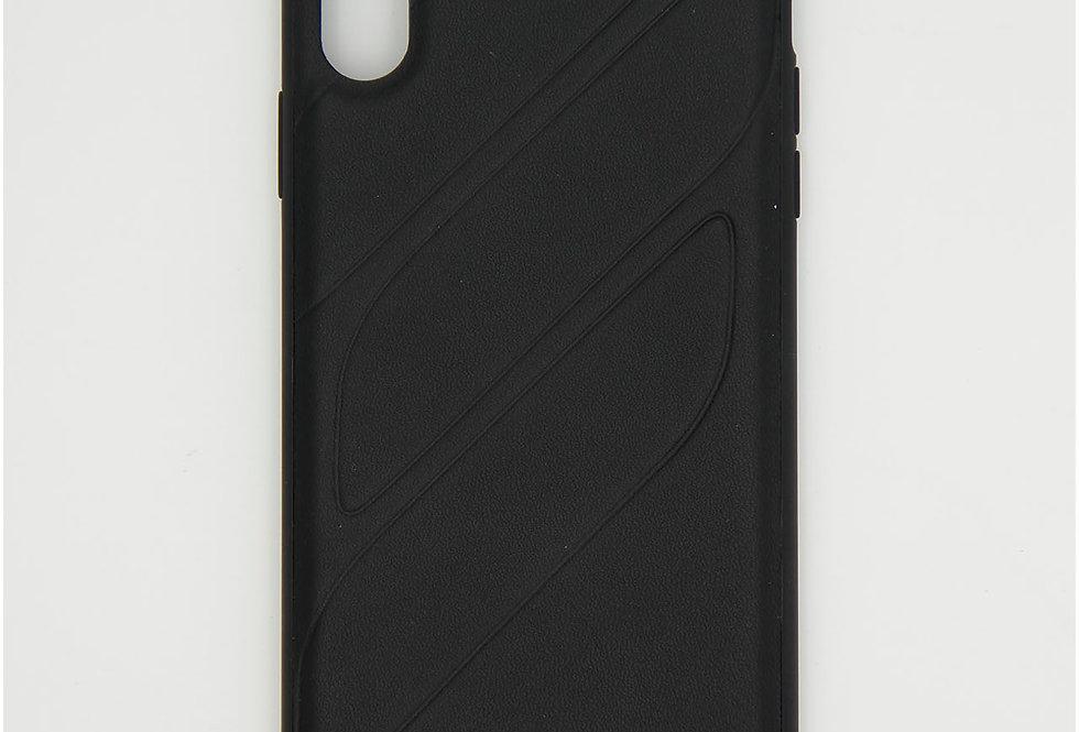 Кожаный чехол на iPhone Xs Max Mercedes