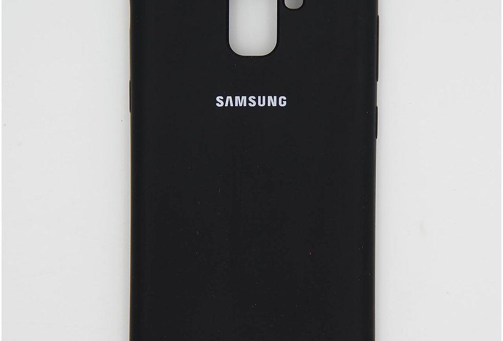 Силиконовый чехол на Samsung A7 2018 Silicone Cover
