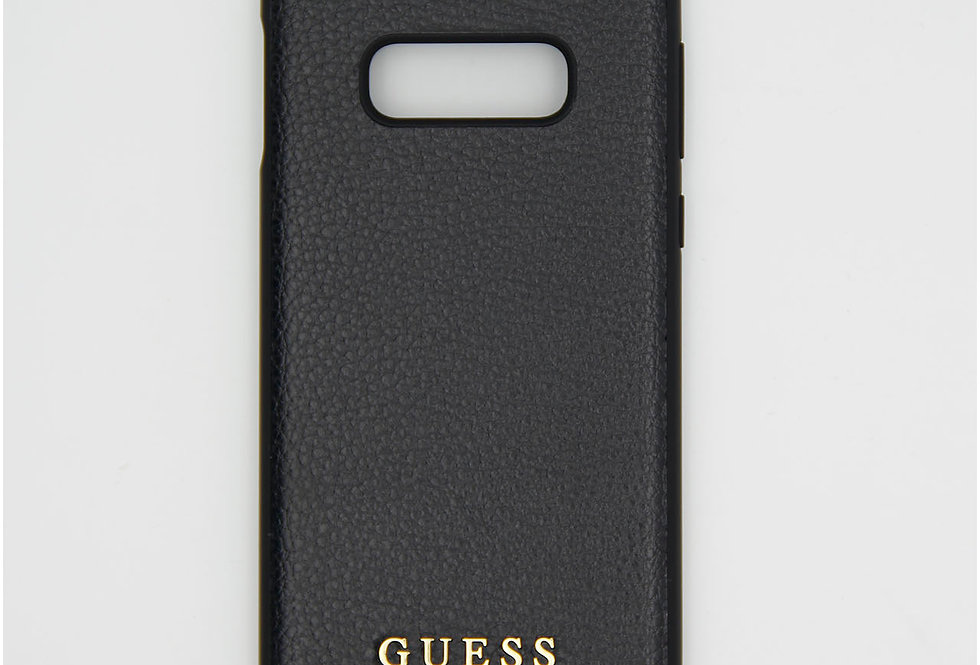 Кожаный чехол на iPhone Samsung S10E GUESS