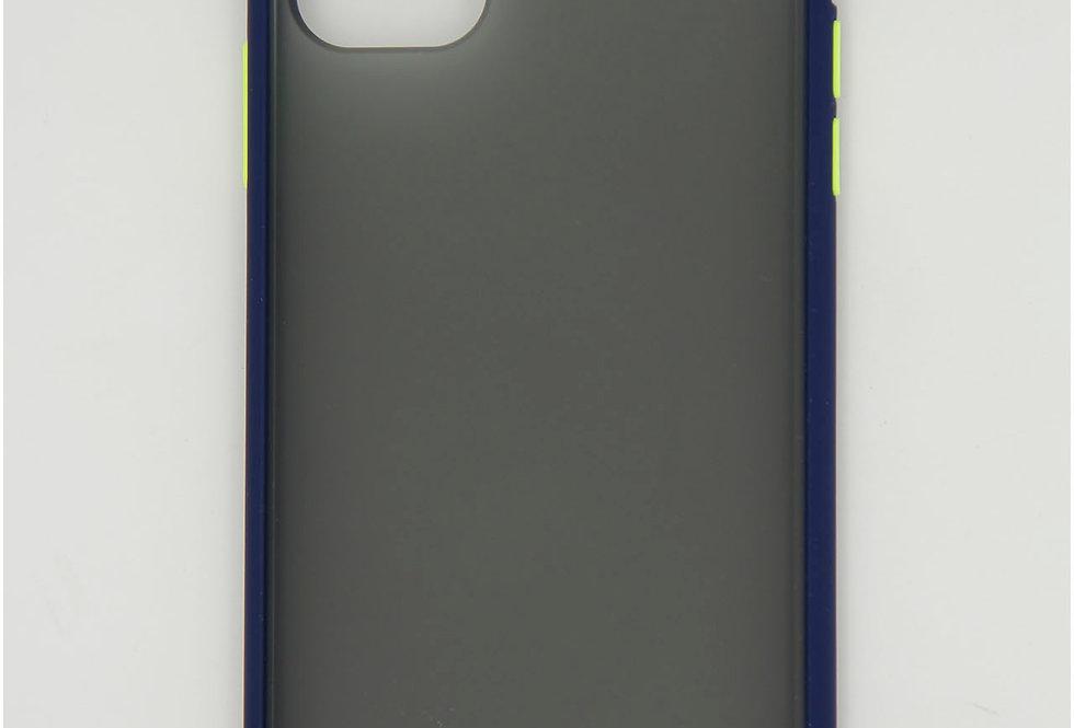 Чехол на iPhone 11 пластик матовый силиконовый противоударный