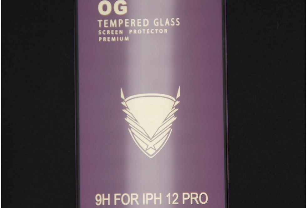 Стекло для iPhone 12 (6.7)Tempered Glass Full Glass 9D