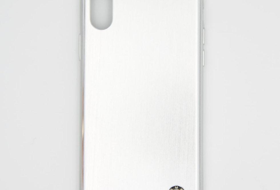 Алюминиевый чехол на iPhone X/Xs BMW
