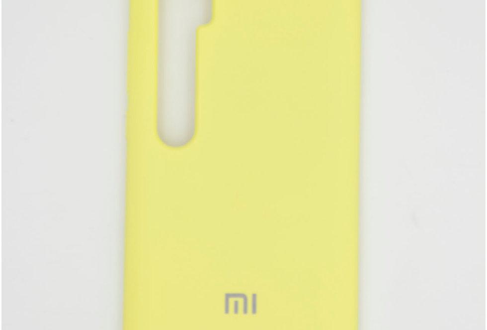 Силиконовый чехол на Xiaomi Mi Note 10 Silicone Cover