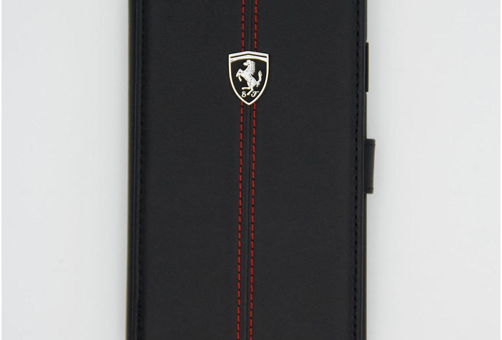 Книжка чехол кожаный на iPhone 11 Ferrari