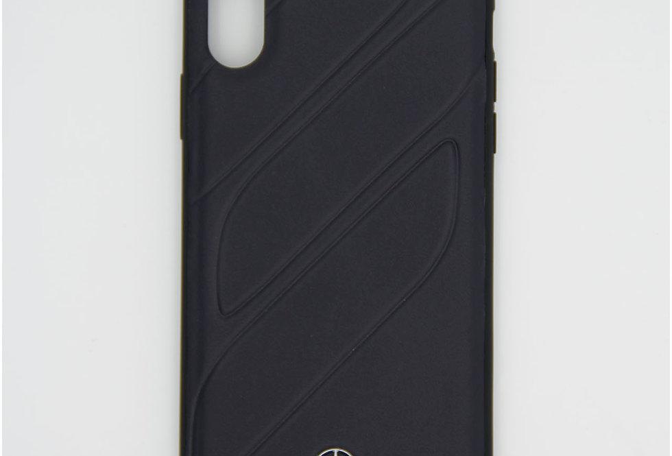 Кожаный чехол на iPhone Xr Mercedes