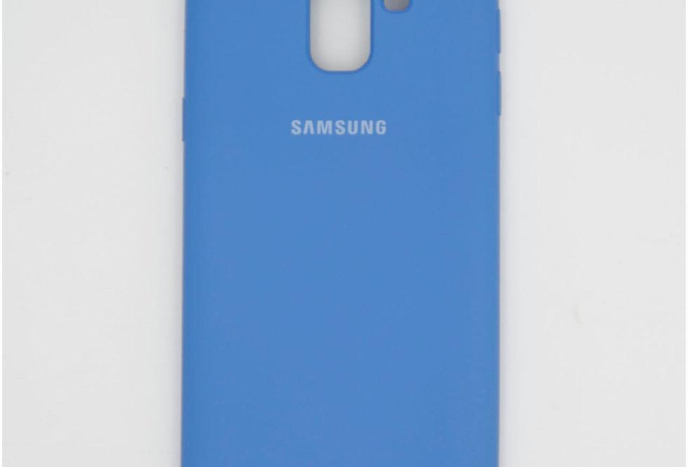 Силиконовый чехол на Samsung J6 2018 Silicone Cover
