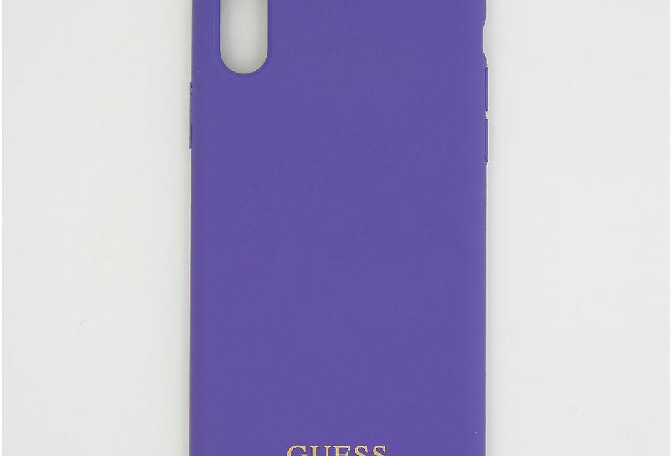Силиконовый чехол на iPhone Xs Guess