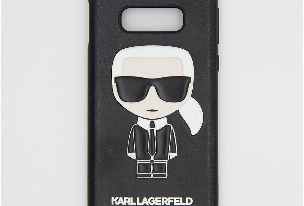 Кожаный чехол на Samsung S10E Karl Lagerfeld